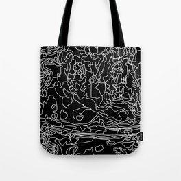 Fluid Drawings II Tote Bag