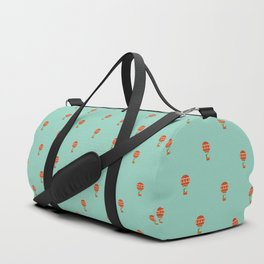 Dragon On Hot Air Balloon Duffle Bag