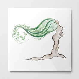 Mother Earth Tree Metal Print