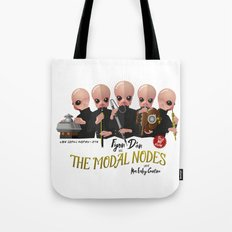 the Modal Nodes Tote Bag