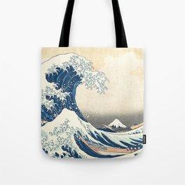 The Great Wave - ca. 1830-32, Katsushika Hokusai Tote Bag