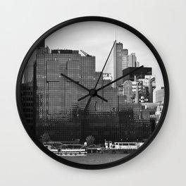 London Riverside Wall Clock