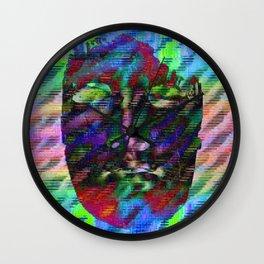 Perpendicular Mirrors Wall Clock