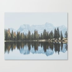 Italian Dolomites (landscape version) Canvas Print