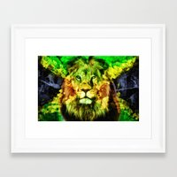 rasta Framed Art Prints featuring Rasta  by gypsykissphotography