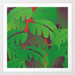Go Wild pillow Art Print