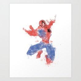 Petey Colour Bomb Art Print