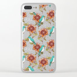 Bye Bye Birdie Clear iPhone Case