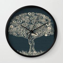 Gear Tree Wall Clock