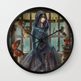witch of knowledge Wall Clock