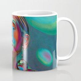 """""""Psychedelic Pop Fantasy"""" (Twiggy II) Coffee Mug"""