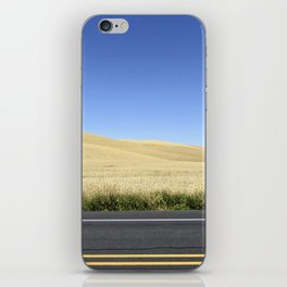 Wheat Fields iPhone Skin