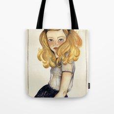 Olivia and the Halloween Tote Bag