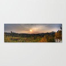 Edmonton Canvas Print