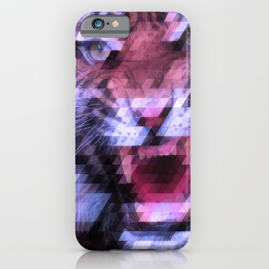 Pixel Tiger iPhone & iPod Case