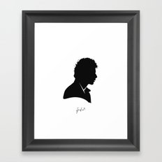 Sid Vicious Framed Art Print