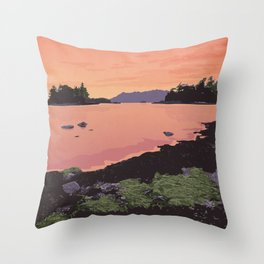 Pacific Rim National Park Reserve Throw Pillow