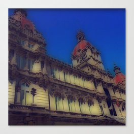 Spanish Architecture Canvas Print