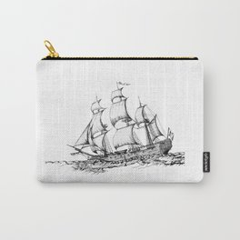 sailing ship . art Carry-All Pouch