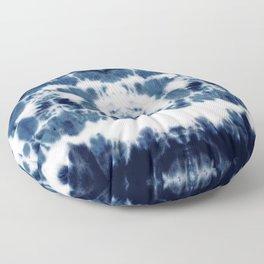 Shibori Not Sorry Floor Pillow