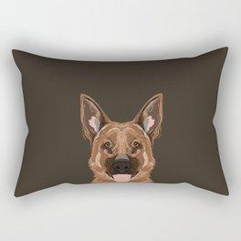 Skylar - German Shepherd gifts for dog people dog lover gifts german shepherd owners perfect gifts  Rectangular Pillow
