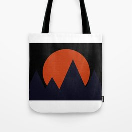 Bold Mountainscape Tote Bag