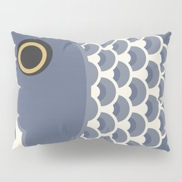 Koinobori   Grey Pillow Sham