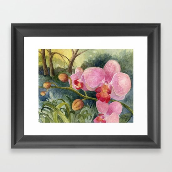 Orchid Beauty Framed Art Print