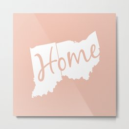 Home (Ohio & Indiana) Metal Print