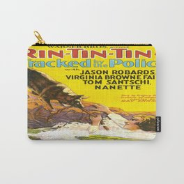 Vintage poster - Rin-Tin-Tin Carry-All Pouch