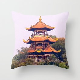 Yichang Chine Throw Pillow