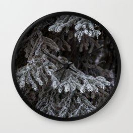 Frosted Tips Wall Clock