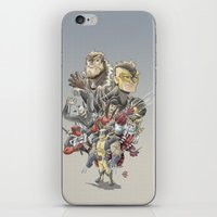 mortal instruments iPhone & iPod Skins featuring Mortal Enemies by Fernando Cano Zapata