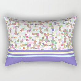 pastel dots with blue Rectangular Pillow