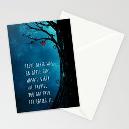 Good Omens - The Apple Stationery Cards