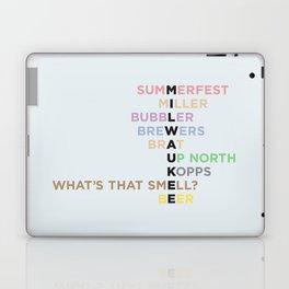 The Words of Milwaukee Laptop & iPad Skin