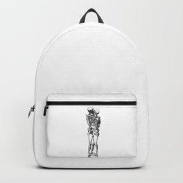 Kissing Skeleton Backpack
