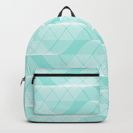 Blue Tiffany Helix Backpack