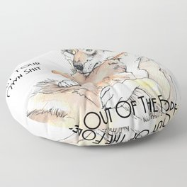 MFM: Stay Out of the Forest Floor Pillow