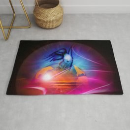 Our world is a magic - free like a bird Rug