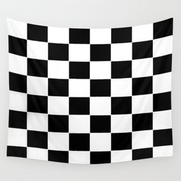 Checkerboard pattern Wall Tapestry