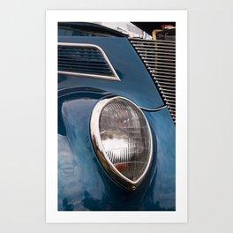 Vintage Car 7 Art Print