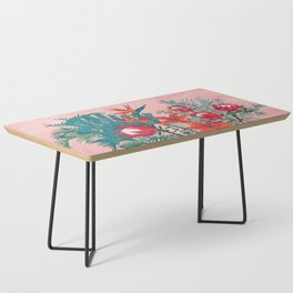 The Domesticated Jungle - Floral Still Life Coffee Table