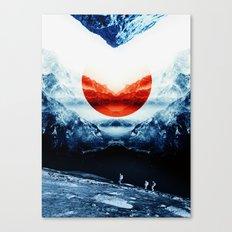 mission blue Canvas Print