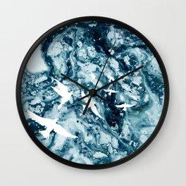 Birds on the ocean Wall Clock
