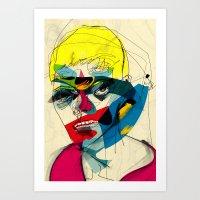 kandinsky Art Prints featuring 041112 by Alvaro Tapia Hidalgo