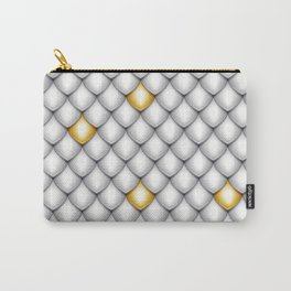 Fish Scale Pattern Design Carry-All Pouch