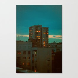 Counting Cubes Canvas Print