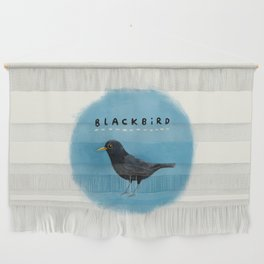 Blackbird Wall Hanging