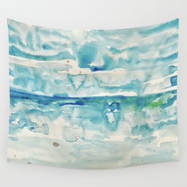 Miami Beach Watercolor #6 Wall Tapestry